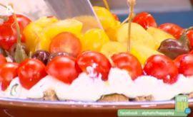 #Σαλάτα #τούρτα #happyday