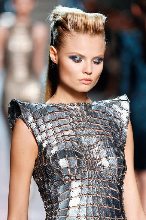 Magda Frackowiak - gladiator armour medieval game of thrones archery inspiration