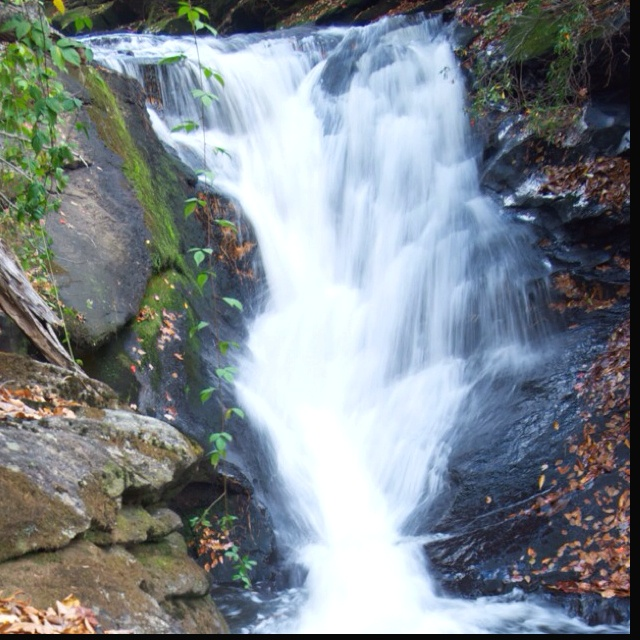 Cullasaja Falls outside of Franklin, NC. One of my favorite places to visit when I was in college