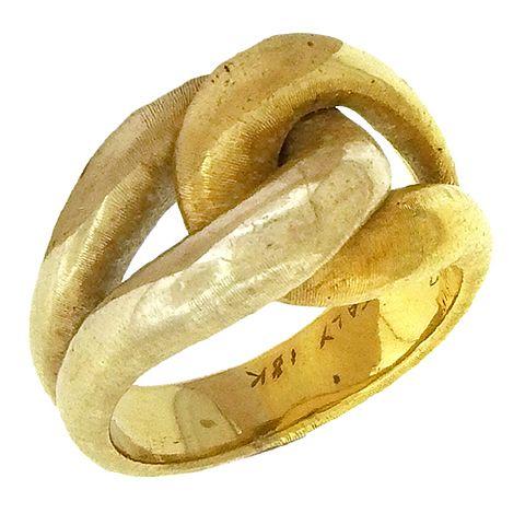 RNG03371 Buccellati Knot Ring