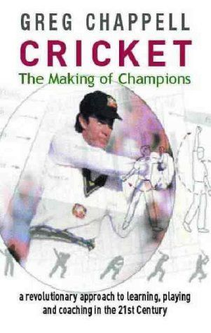 Book: Cricket : The Making Of Champions.