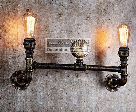 Best 25 pipe lighting ideas on pinterest rustic light for Black iron pipe lights