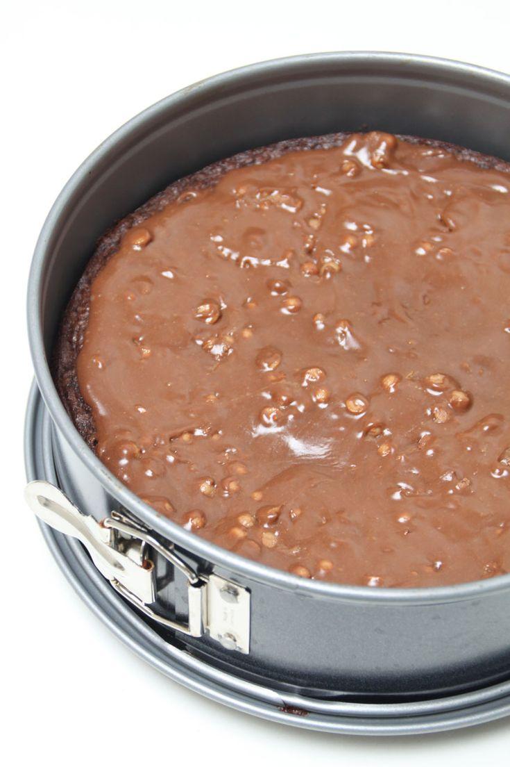 Kladdkaka med digestive choklad | Bakverk och Fikastunder