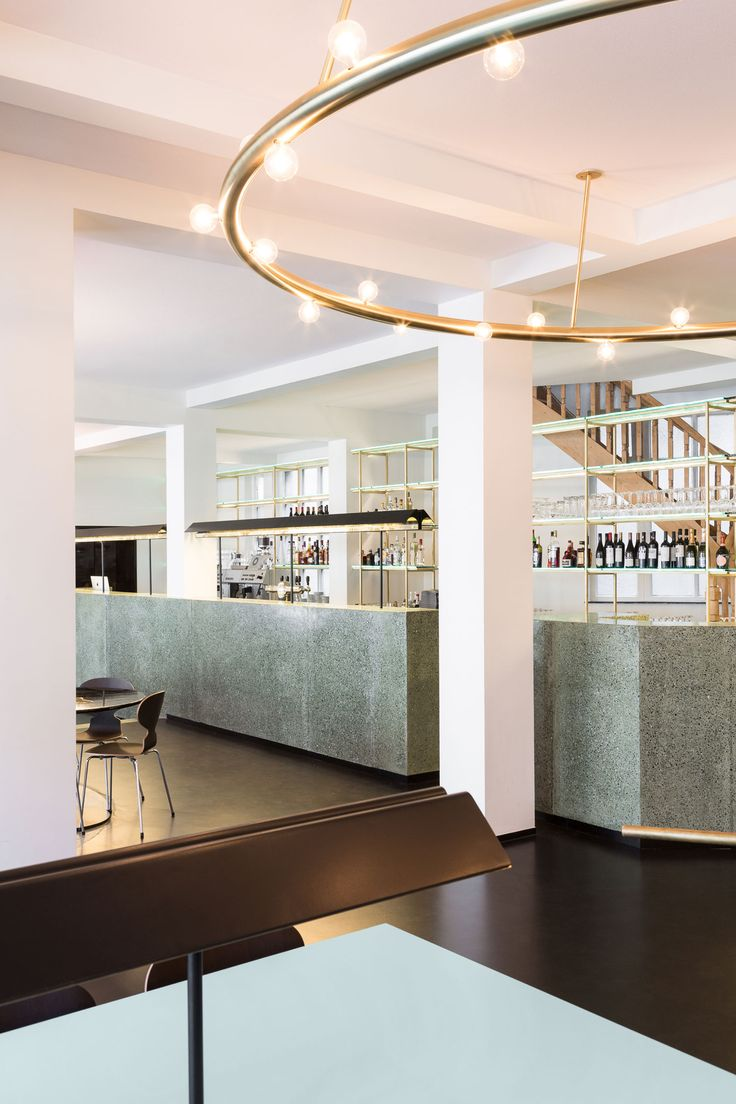 'Victor' Café at Fine Arts Centre in Brussels by Robbrecht and Daem | Yellowtrace