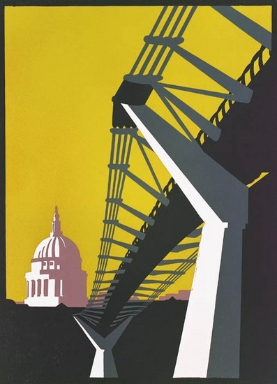 In Love with Paul Catherall's prints.