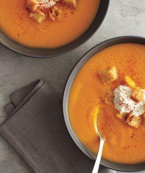 Creamy Pumpkin SoupCreamy Pumpkin, Butternut Squash Soup, Soup Features, Pumpkin Soup, Squash Recipes, Soup Recipe, Butternut Squashes Soup, Squashes Recipe, Soup Cans
