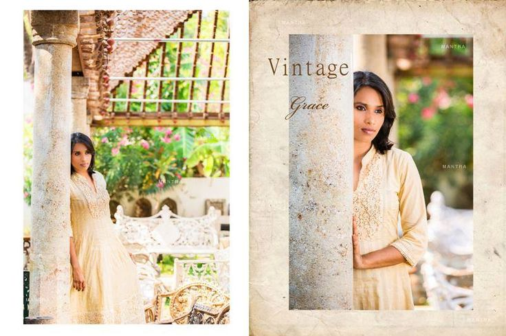 Vintage Grace, a line of festive anarkalis in soft muls with intricate crochet lace, and the slightest hint of shimmer. Shop for this collection at http://www.shalinijamesmantra.com/vintage-grace.html