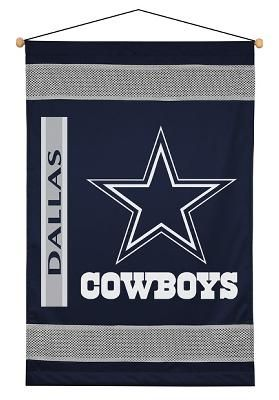 Dallas Cowboys NFL Sidelines Wall Hanging