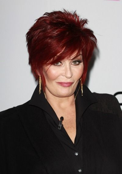 64 Short Hairstyles That Will Make You Want to Chop It All Off. Sharon  Osbourne ...