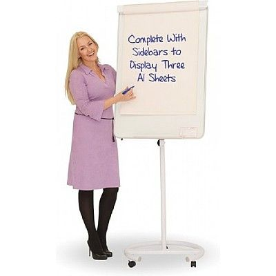 Mobile Whiteboards/Writing Boards with Round Base