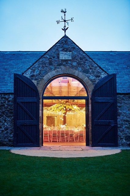 Discover garden room design ideas on HOUSE by House & Garden, including this garden barn on a Scottish estate