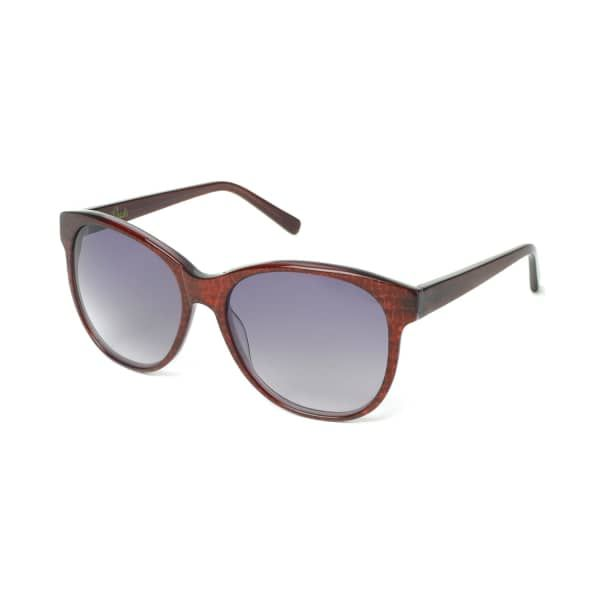 HEIDI LONDON Round Cateye Frame Sunglasses Bordeaux. #heidilondon #all