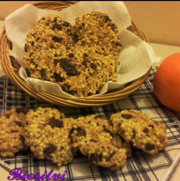 Biscotti di miglio e farro soffiati all'arancia | Biosilvi