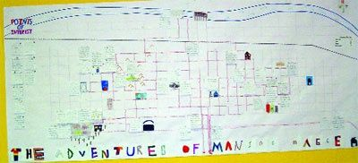 Maniac Magee maps of holidaysburg  and twomills | Map of Two Mills, PA. Supercool! | Teach Someone Something