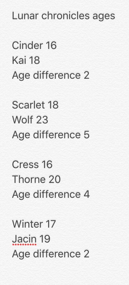 I don't know why people make such a big fuss about cresswells age difference.. honestly its not that much!