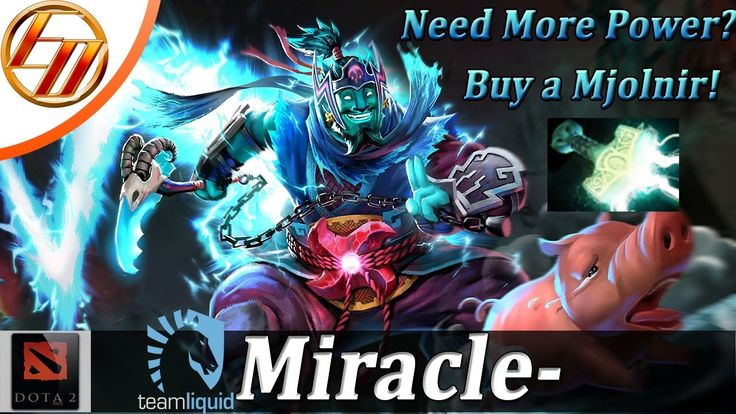 Miracle- Overcharged Storm Spirit |Dota 2 Highlights