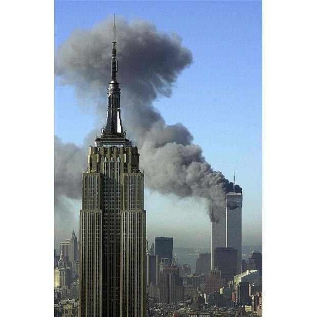 9/11 anniversary in pictures: The attack on the Twin Towers World Trade Center   in New York