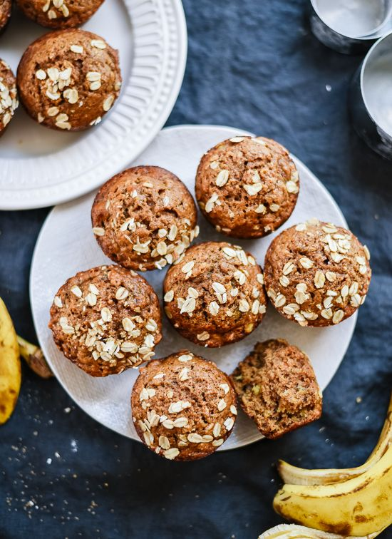 Have you tried boosting your muffins with some fibre lately? Try adding 7 g of fibre, when you replace ¼ cup of flour with a ¼ cup of ground All-Bran Buds™. #AllBran #Fibre #Recipe #Maple #Banana #Muffins