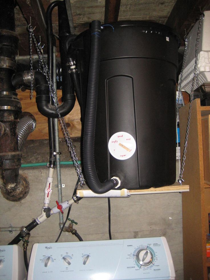 How To Make A Laundry Water Recycler Gray Water System