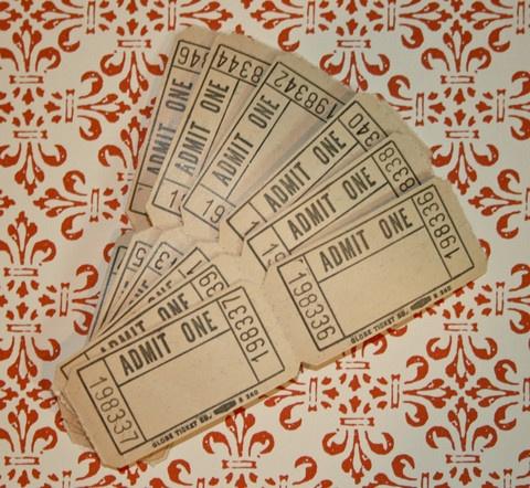 145 best Vintage Tickets images on Pinterest Craft supplies - ticket invitation