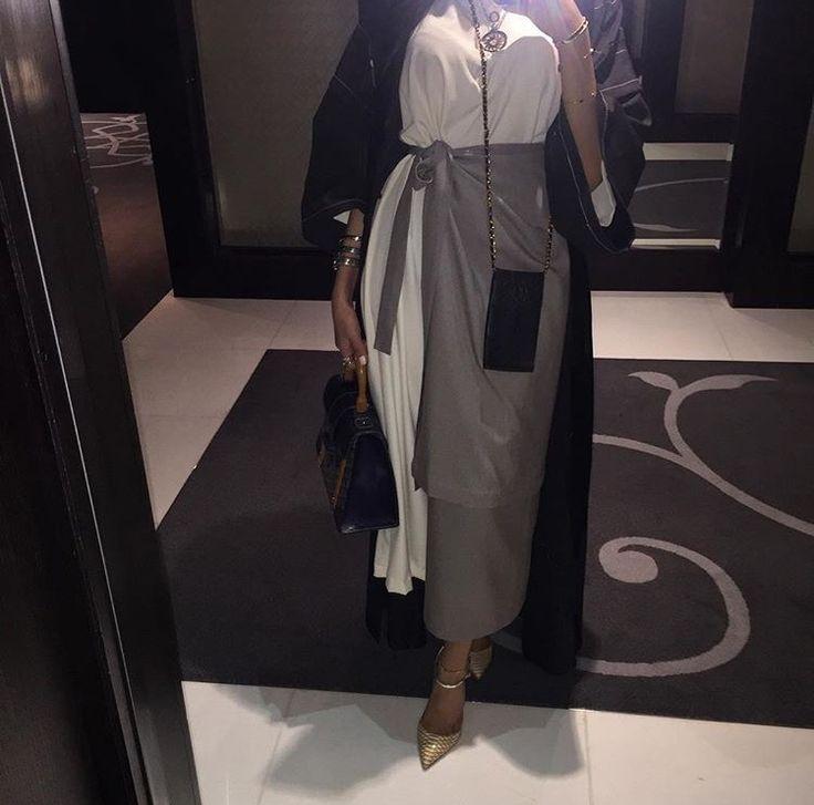 IG: AsbyDubai || IG: BeautiifulinBlack || Abaya Fashion ||