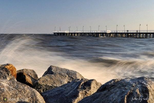 Sztormowe Orłowo / Stormy Orłowo | fot. Robs #gdynia #orlowo #sea #sztorm #morze