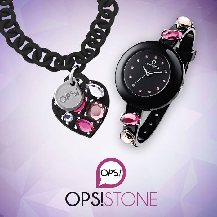 OPS STONE bracciale 39euro / orologio 44euro