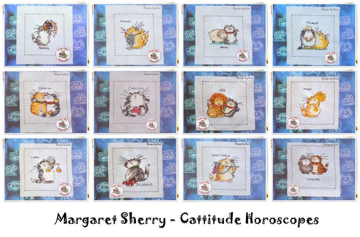Project 2014 - Margaret Sherry: Cattitude Horoscopes