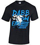 Carolina Panthers Cam Newton Dab On EM Men's Black T Shirt