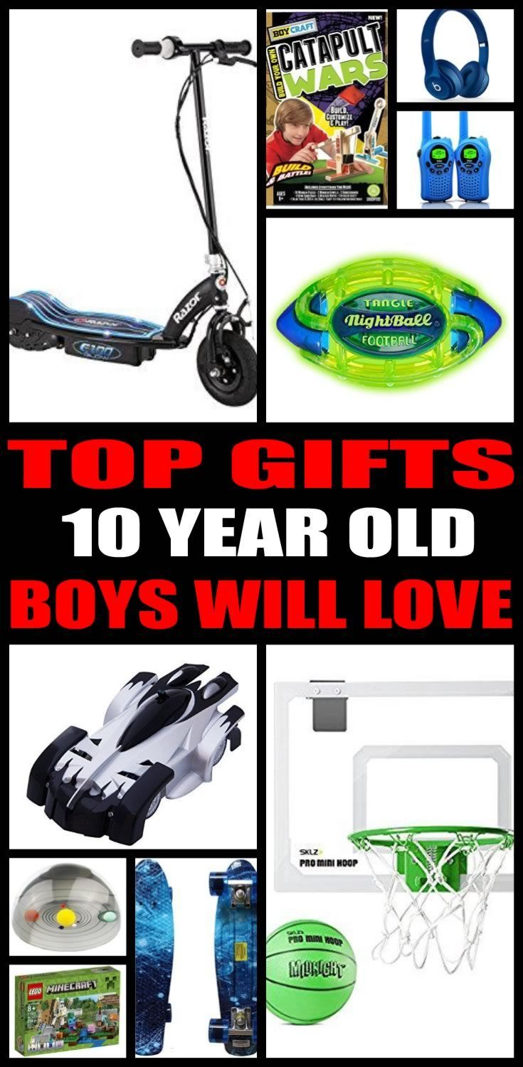 Find the best gifts for 10 year old boys! Kids would love a gift from this ultimate gift guide. Find the best toys and non toy gifts perfect for 10 year old boy birthdays, Christmas and other gift occasions. Cool gift ideas for tweens and pre teen boys!