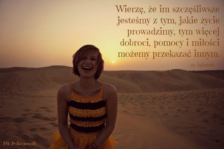 Jak wiele dobrego moglibyśmy zdziałać, gdybyśmy kochali swoje życie nad życie?:)  Przekonaj się z www.ksiazkapolkapotrafi.pl.