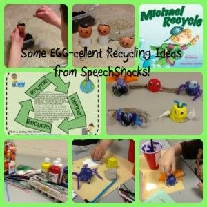Rhyme, Define, Recycle!  Activities for Earth Day! Including recycling projects and a FREEBIE!!