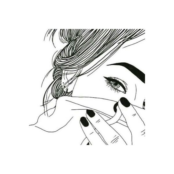 Scribble Drawing Ideas : Tumblr liked on polyvore featuring fillers art doodle