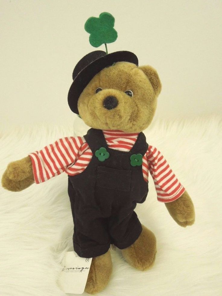 Authentic #NICI Bear #toys  #collectibles  #irish