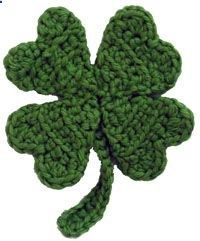 crochet pattern for 4 leaf clover