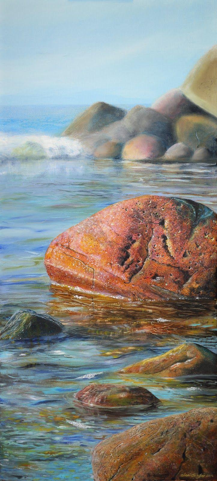 Watercolor artist magazine palm coast fl - Artist Elizabeth Tyler
