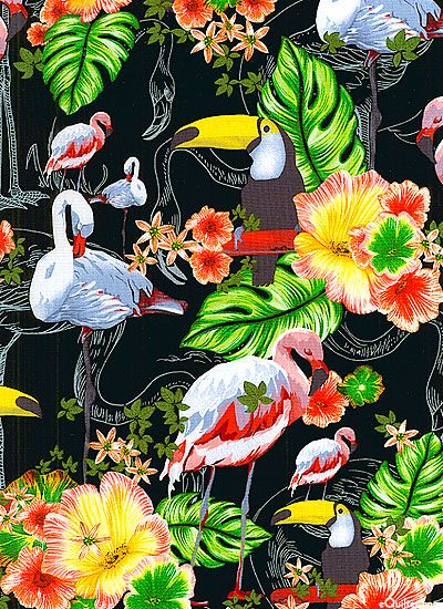 Ocean Ave - Birds In Paradise - at eQuilter.com