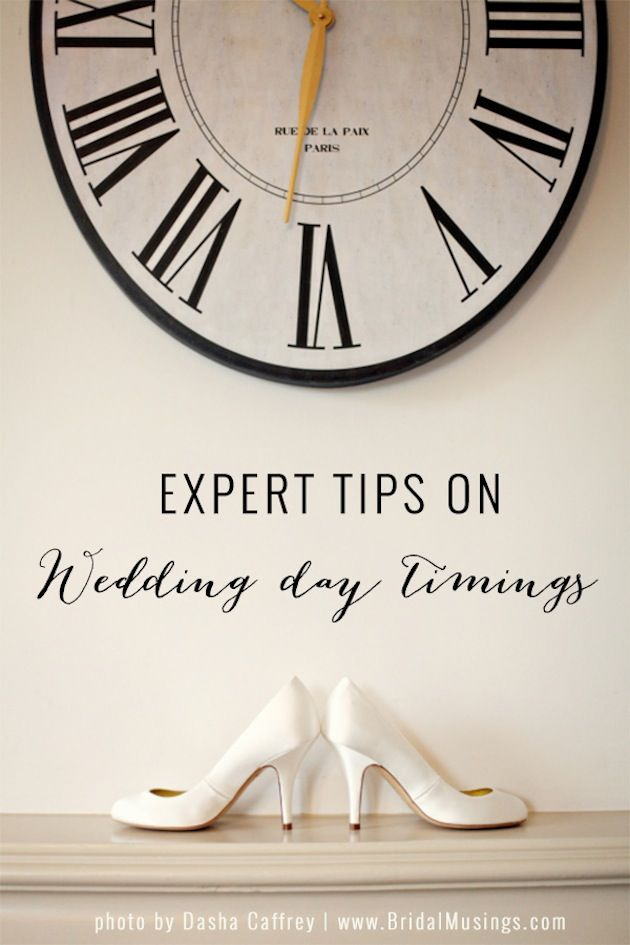 Top Tips On Wedding Timings By A Wedding Planner @Andrijana Culjak Benson