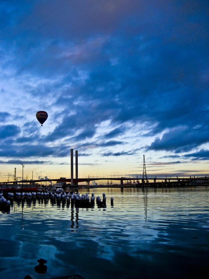 Dawn @ Victoria Harbour,  Docklands - Melbourne