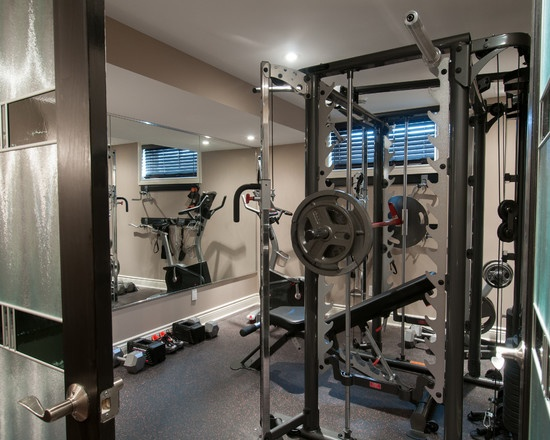 Fully Equipped For Safety A Home Gym Complete With