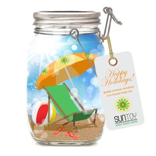 Bottle some sunshine in a Consol Solar Jar!