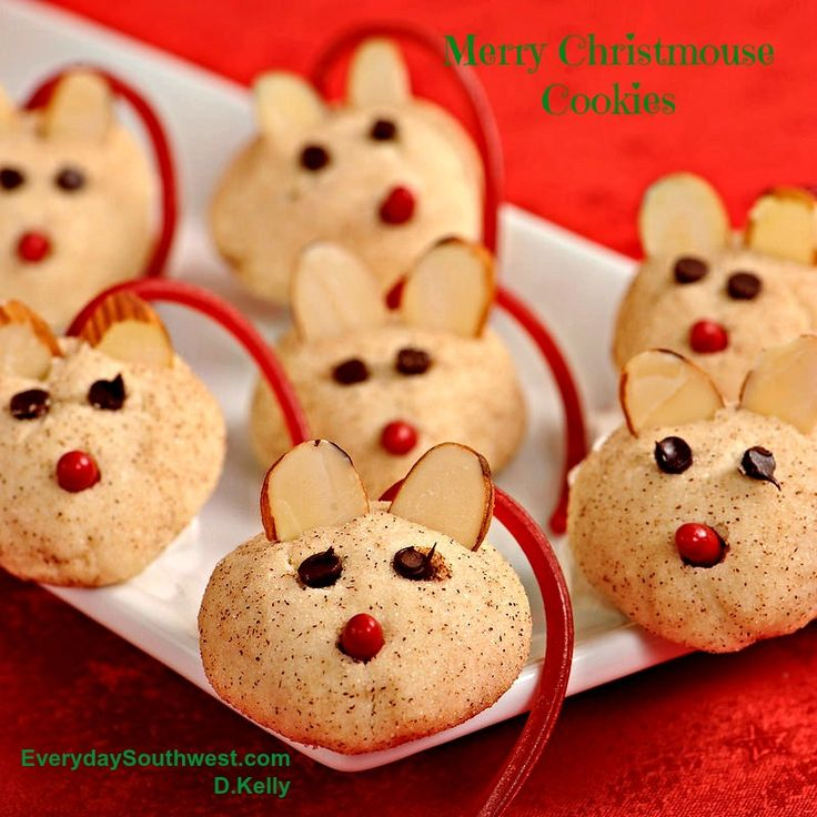 These adorable Christmouse Cookies will completely steal the show at every holiday party or cookie swap this year. Pssst… no one has to know that they are one of our easy Christmas cookie rec…