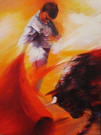 Famous Spanish Paintings | bullfighter a n matador painter ... Hispanic Painters Famous