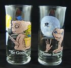 Vintage 1982 E.T. the Extra Terrestrial Pizza Hut Limited Edition Drink Glasses …
