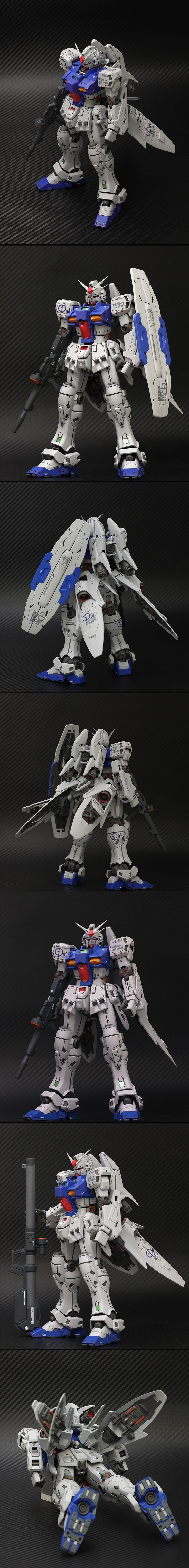 """1/100 RX-78GP03S Gundam """"Dendrobium Stamen"""" (aka Stamen GP03S): Amazing Work by ttl2541 Full Photoreview [WIP too] Wallpaper Size Images"""