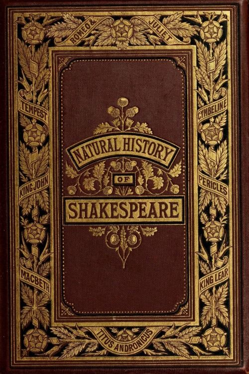 Natural History Of Shakespeare 1877