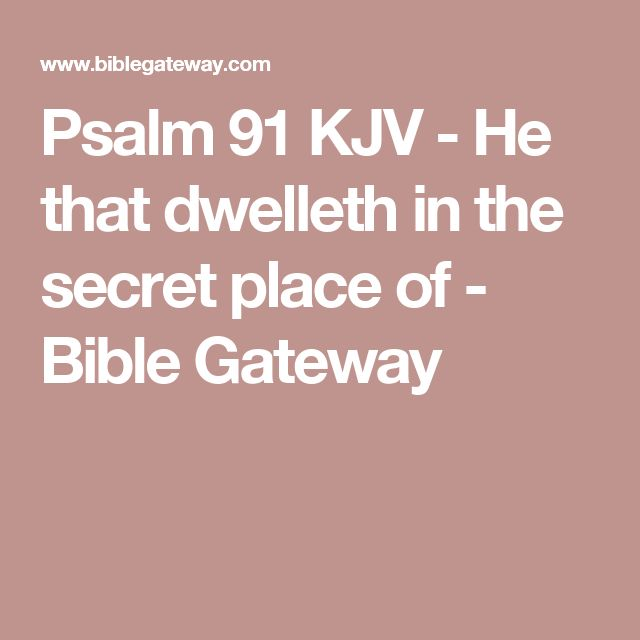 psalm 23 kjv bible gateway