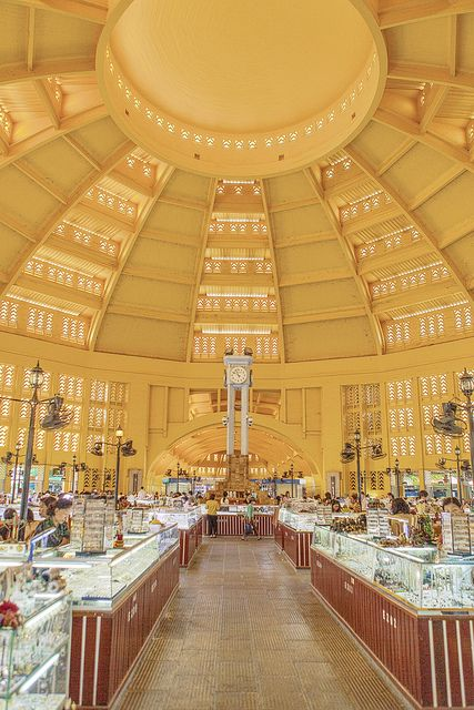 Central Market - Phnom Penh, Cambodia