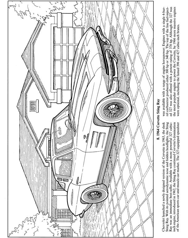 Muscle Car Collector Camaro Cars Coloring Pages : Best Place to Color | 770x608