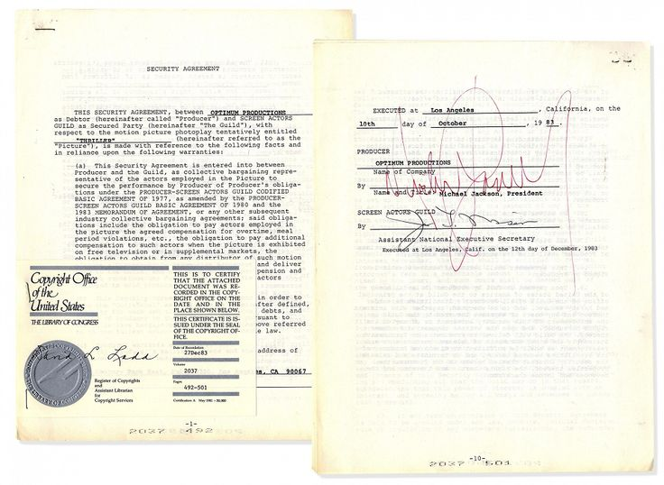 Michael Jackson's Thriller contract to be auctioned  http://mjvibe.com/News/2015/02/24/michael-jacksons-thriller-contract-to-be-auctioned/
